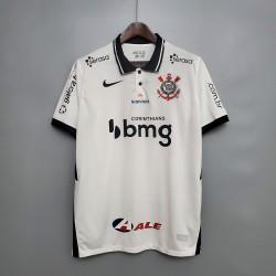 Camisa Corinthians I 20/21 s/n° Torcedor c/ Patrocínio