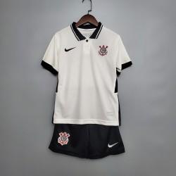 Camisa Corinthians I 20/21 s/n° Infantil