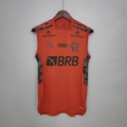 Camisa Flamengo Treino 21/22 - Regata c/ Patrocínio