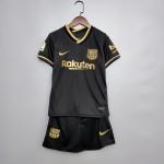 Camisa Barcelona Away 20/21- Infantil
