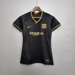 Camisa Barcelona Away 20/21 s/n° Feminino