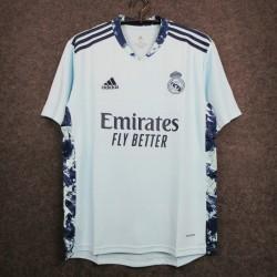 Camisa Real Madrid Goleiro 20/21 - Azul Celeste