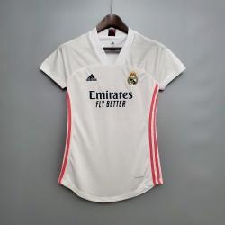 Camisa Real Madrid Home 20/21 s/n° Feminino