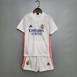 Camisa Real Madrid I 20/21 - Infantil