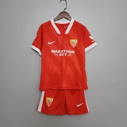 Camisa Sevilla Away 20/21 s/n° - Infantil