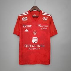 Camisa Brestois Home 20/21 s/nº - Torcedor