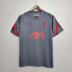 Camisa Liverpool Treino 20/21 s/n° - Cinza