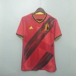 Camisa Bélgica Home 20/21 - Torcedor