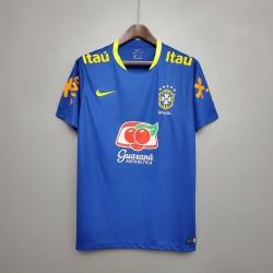 Camisa Brasil Treino 20/21 s/n° Torcedor