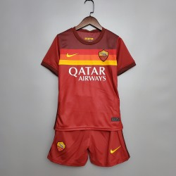 Camisa Roma Home 20/21- Infantil