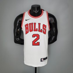 Camisa Chicago Bulls 2021 nº 2 BALL - Branco
