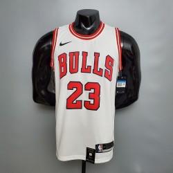 Camisa Chicago Bulls 2021 nº 23 JORDAN - Branco