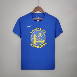 Camiseta Golden States Warrios Azul - 30 CURRY T-shirt