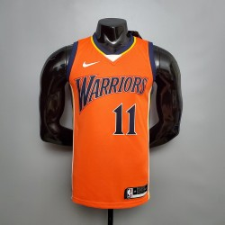 Camisa Warrios - 11 THOMPSON - Laranja