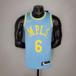 Camisa Lakers Minneapolis - 6 JAMES