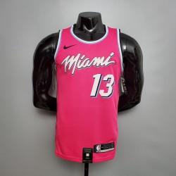 Camisa Miami Heat - 13 ADEBAYO - Modelo 1