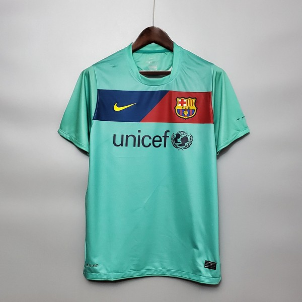 Camisa Barcelona Away 10/11 Retrô - Torcedor