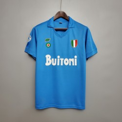 Camisa Napoli Retrô 87/88 - Torcedor