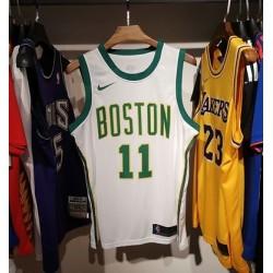 Camisa de Basquete Boston Celtics - 11 Irving - branco