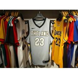 Camisa Cleveland Cavaliers - 23 JAMES - Cinza