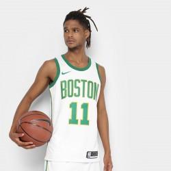 Regata Swingman NBA Boston Celtics - Kyrie Irving JSY City Edition 18 Nike - Branco e Verde