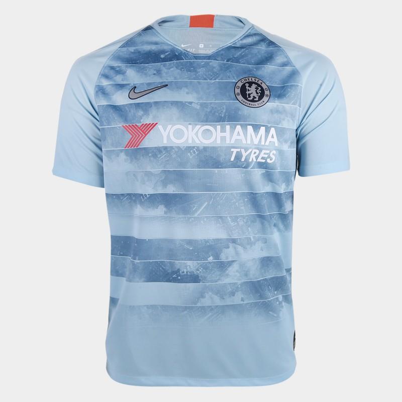 Camisa Chelsea Third 2018 s n° - Torcedor ac1c8280c658a