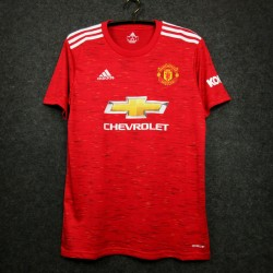 Camisa Manchester United Home 20/21 s/n° - Torcedor