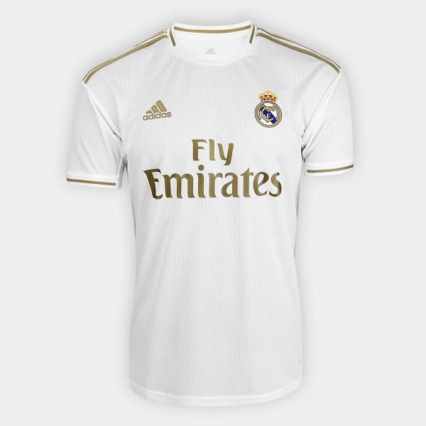 Camisa Real Madrid I 19/20 s/n° Torcedor