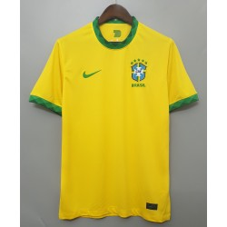 Camisa Brasil Home 20/21 s/n° Torcedor