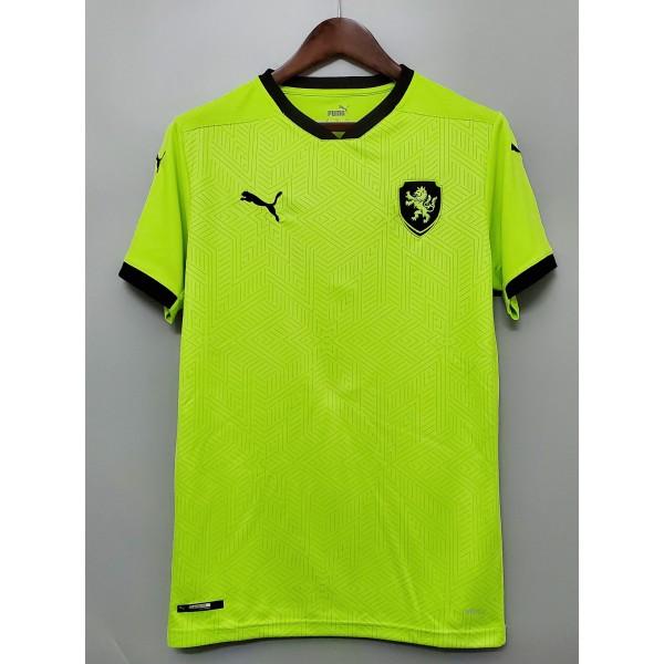 Camisa Republica Tcheca Away 20/21 s/nº - Torcedor