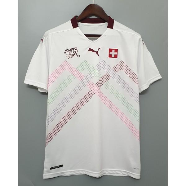 Camisa Suíça Away 20/21 s/nº - Torcedor